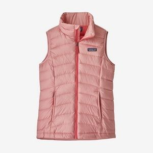 NWT Patagonia Girl's Down Sweater Vest